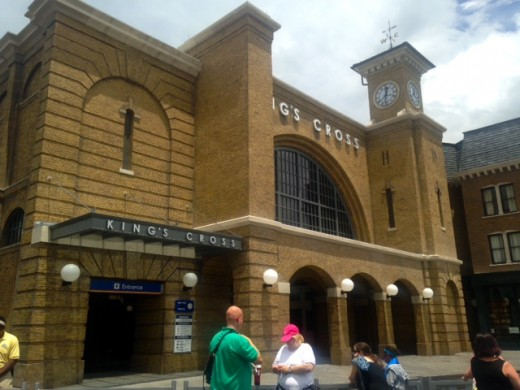 Kings Cross Station, Wizarding World of Harry Potter, Diagon Alley Universal Orlando