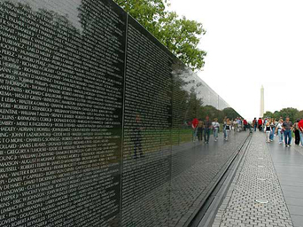 Vietnam Memorial from veteranstoday.com