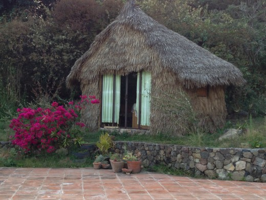 Accommodations for Voluntourism on Mexican farm