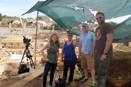 Reporting on Heritage Malta Voluntourism