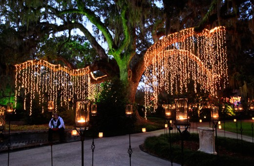 Night of 1000 Candles, Brookgreen Gardens